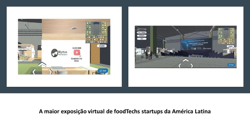 2020 – A Myrtus Plant Biotech participou do FoodTech Expo.  A maior exposição virtual de startups da América Latina.